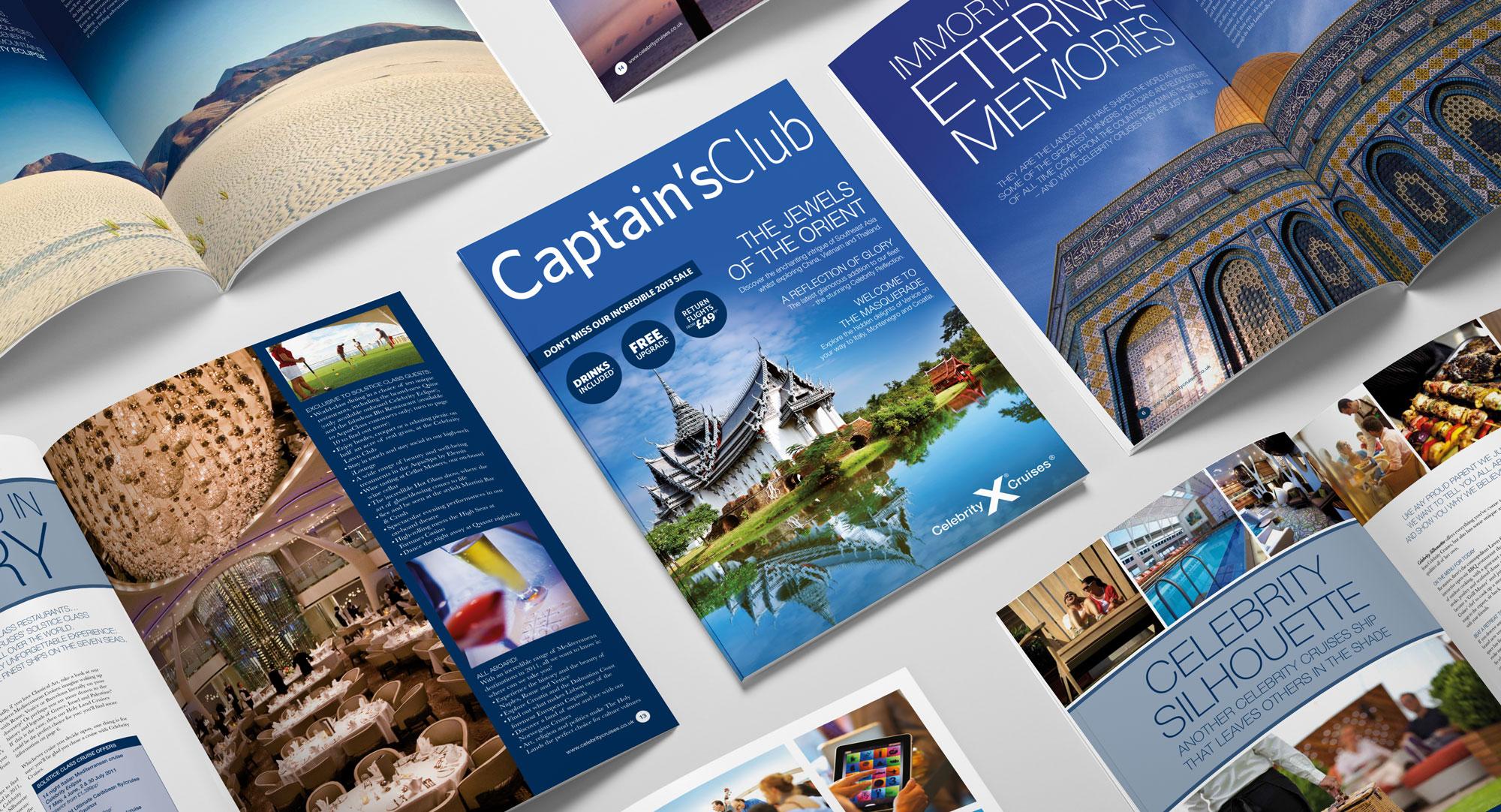 celebrity cruises captains club magazines