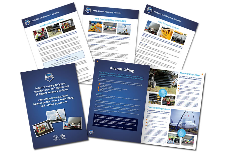 ams brochure and product sheets