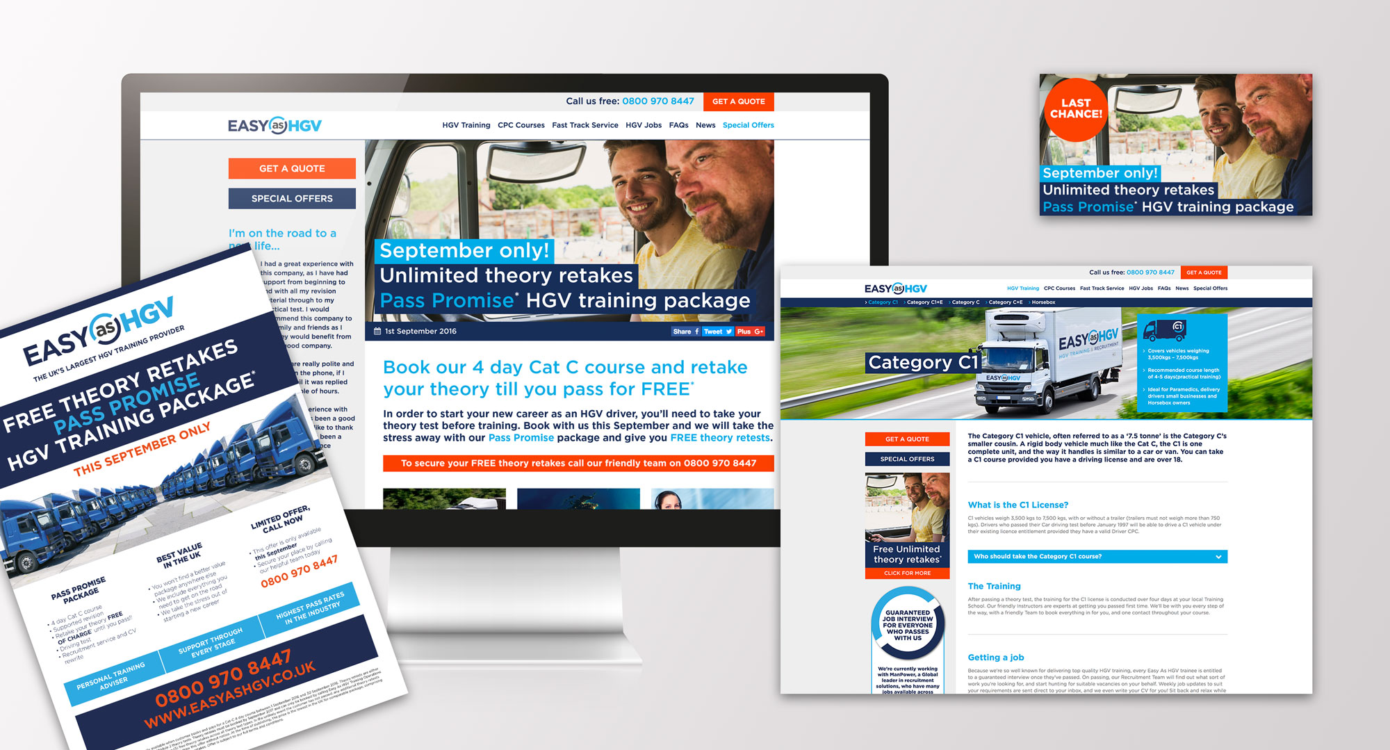 easy as hgv campaign work