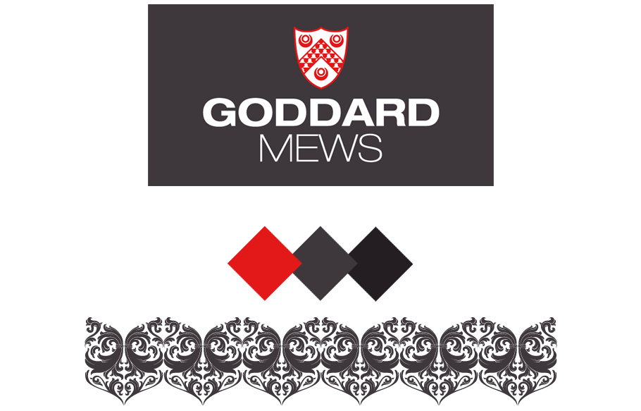 goddard mews branding