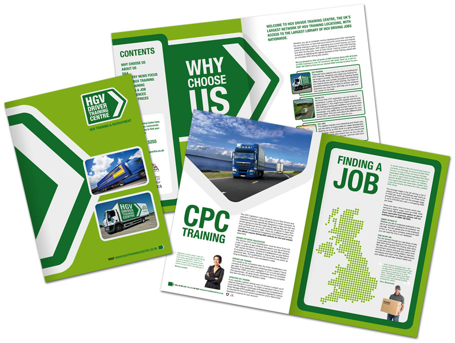 HGV Driver Training Centre brochure