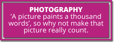 photography text
