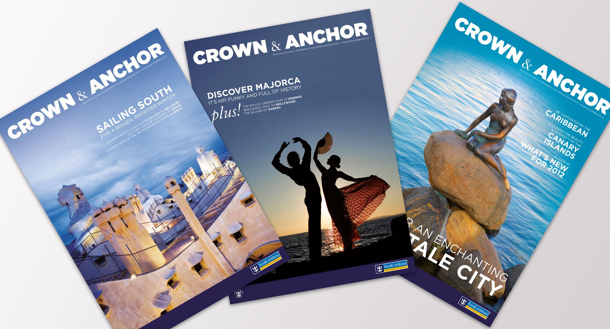 royal caribbean magazine covers