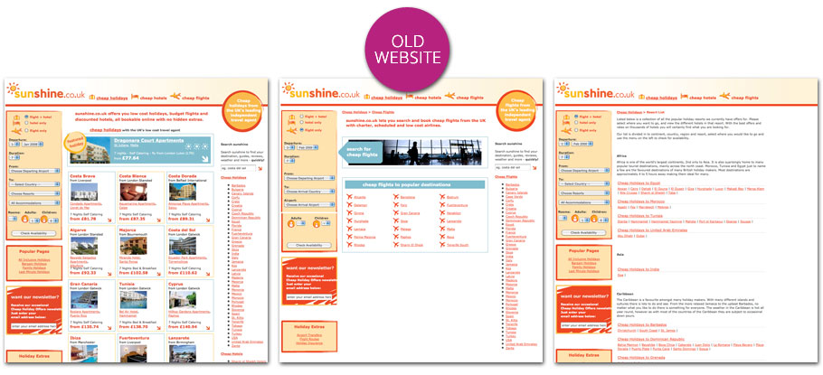 old sunshine website