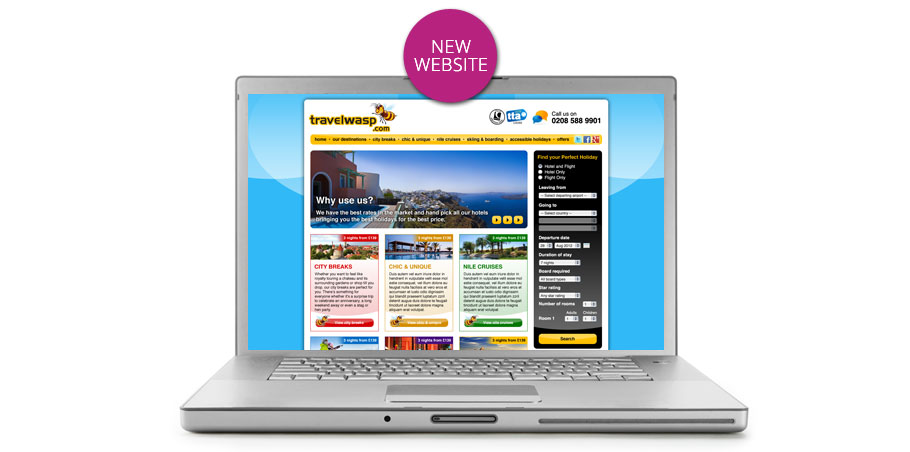Travelwasp home page