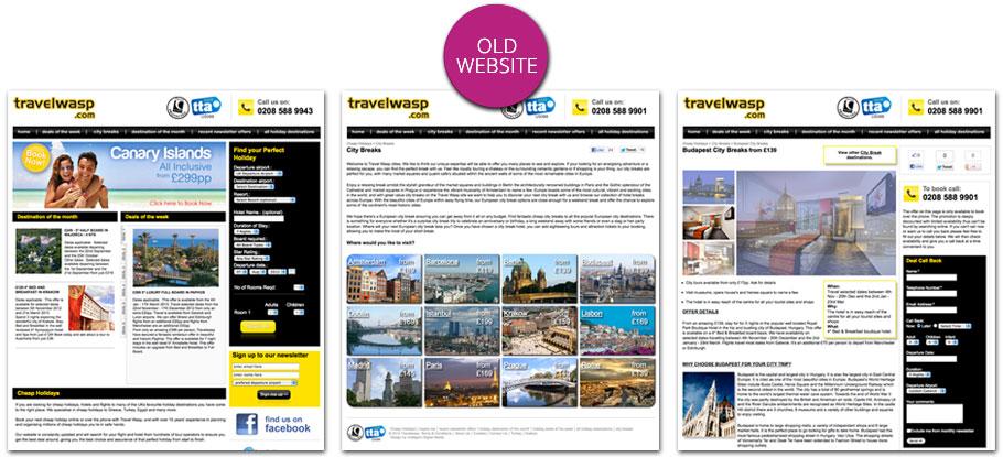 old travelwasp website