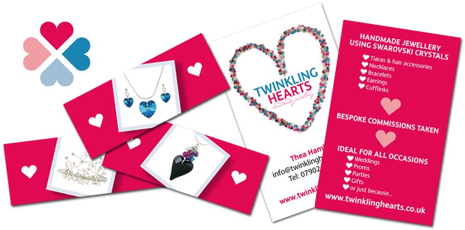 twinkling hearts branding
