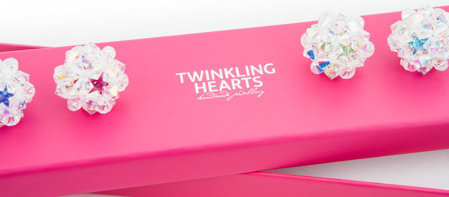 twinkling hearts packaging