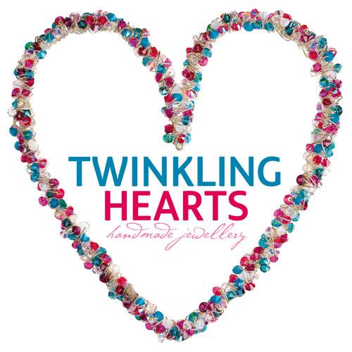 twinkling hearts logo