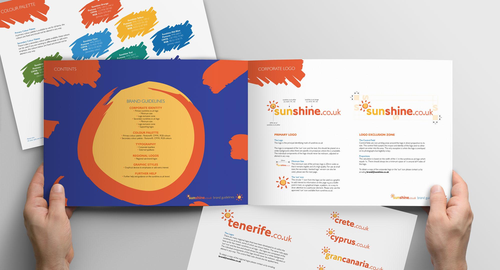 sunshine brand guidelines