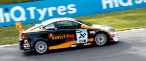 sunshine BTCC car livery