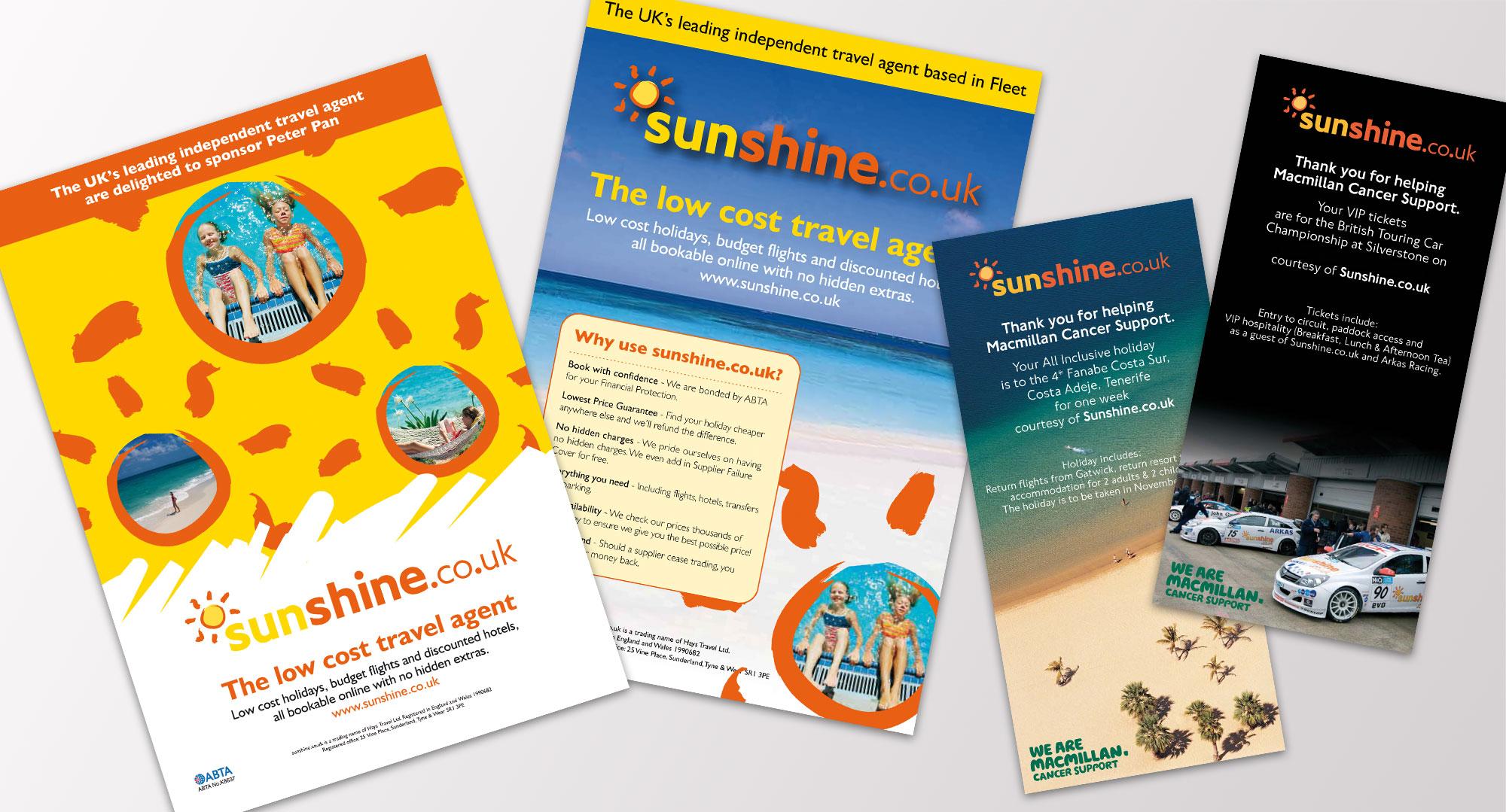 sunshine print work