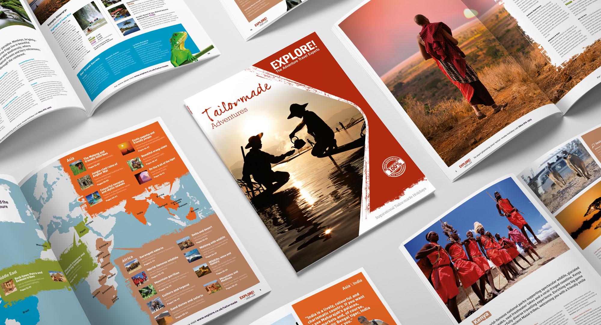 explore tailormade brochure
