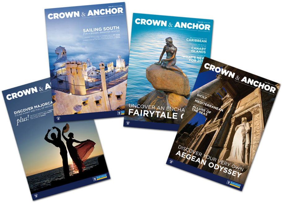 royal caribbean magazine covers
