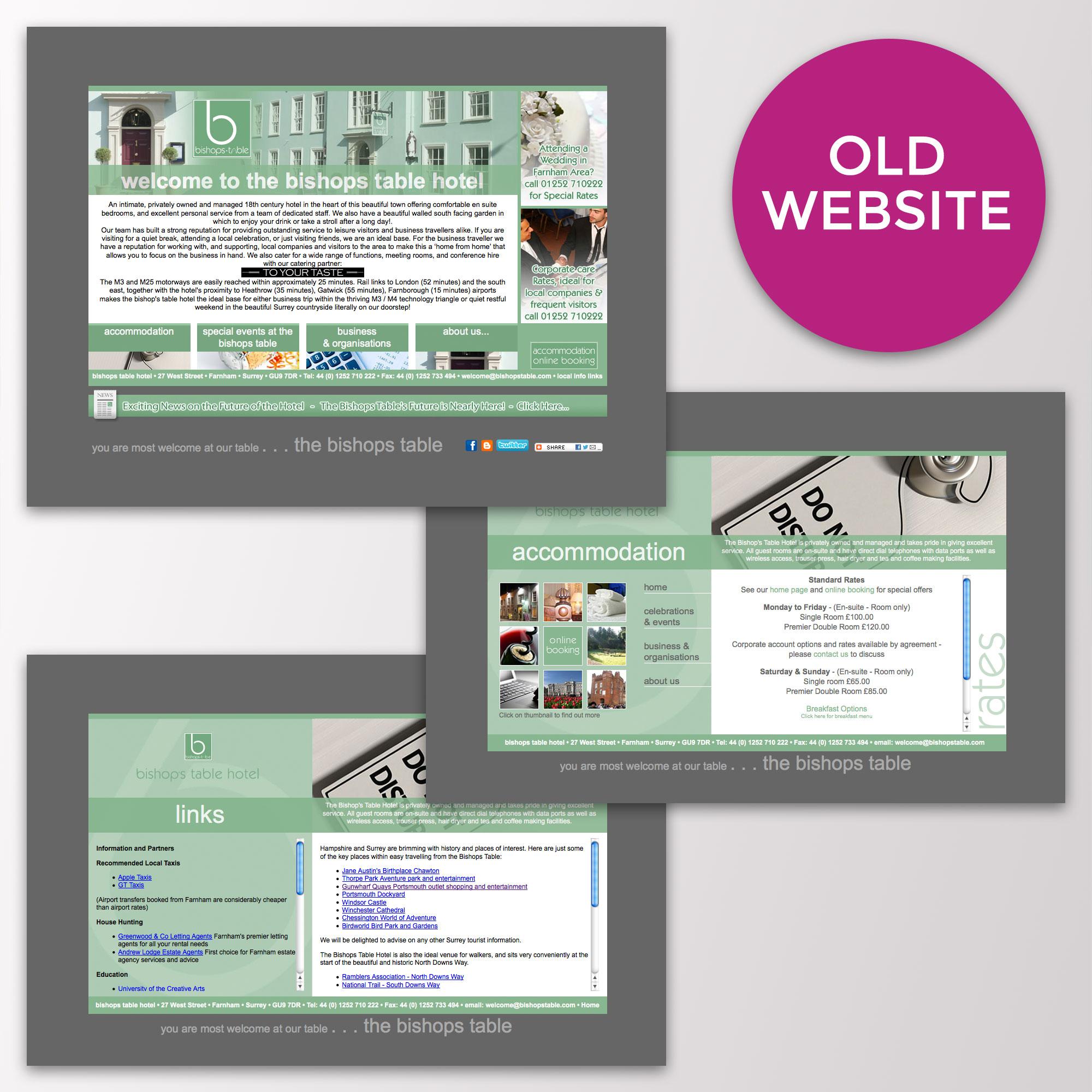 bishops table old website