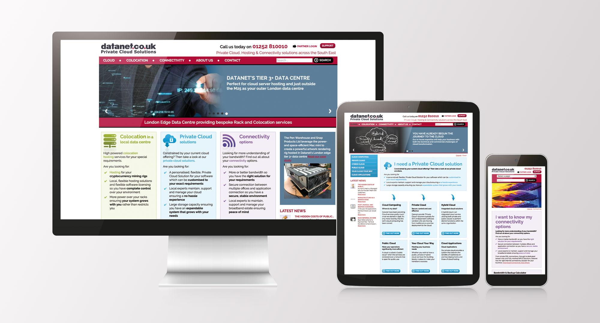 datanet new website