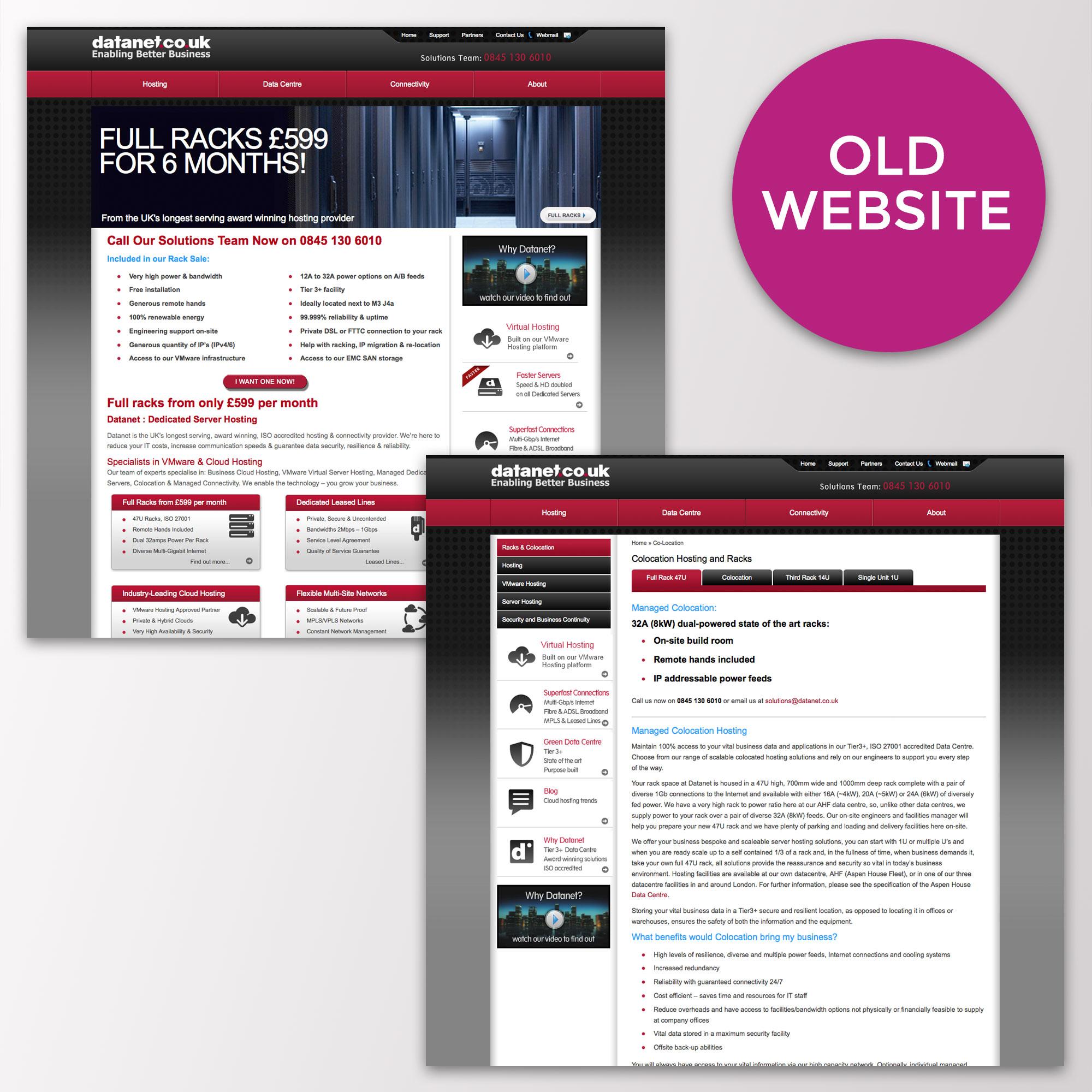 datanet old website