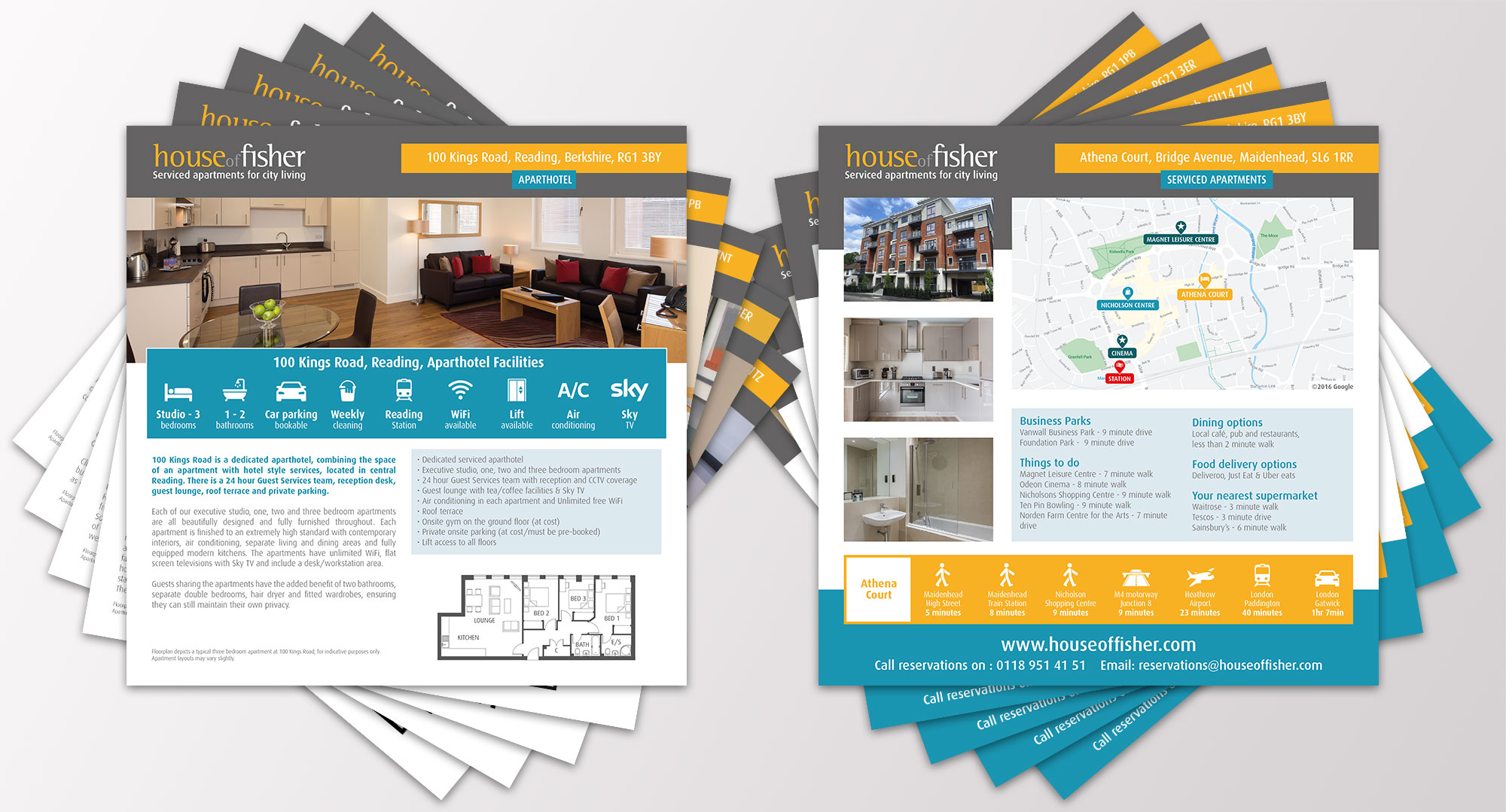 house of fisher brochures