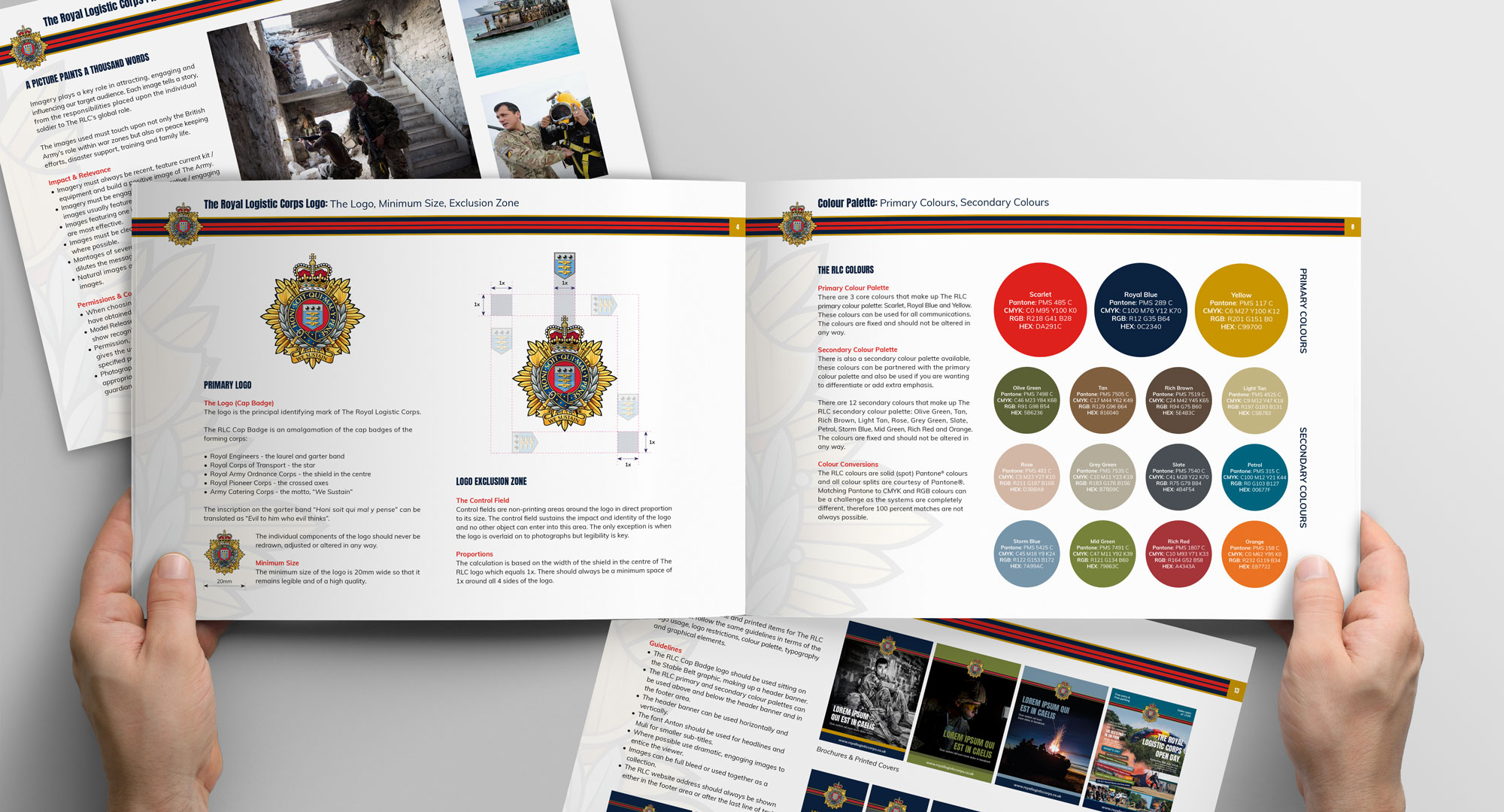 royal logistic corps brand guidelines