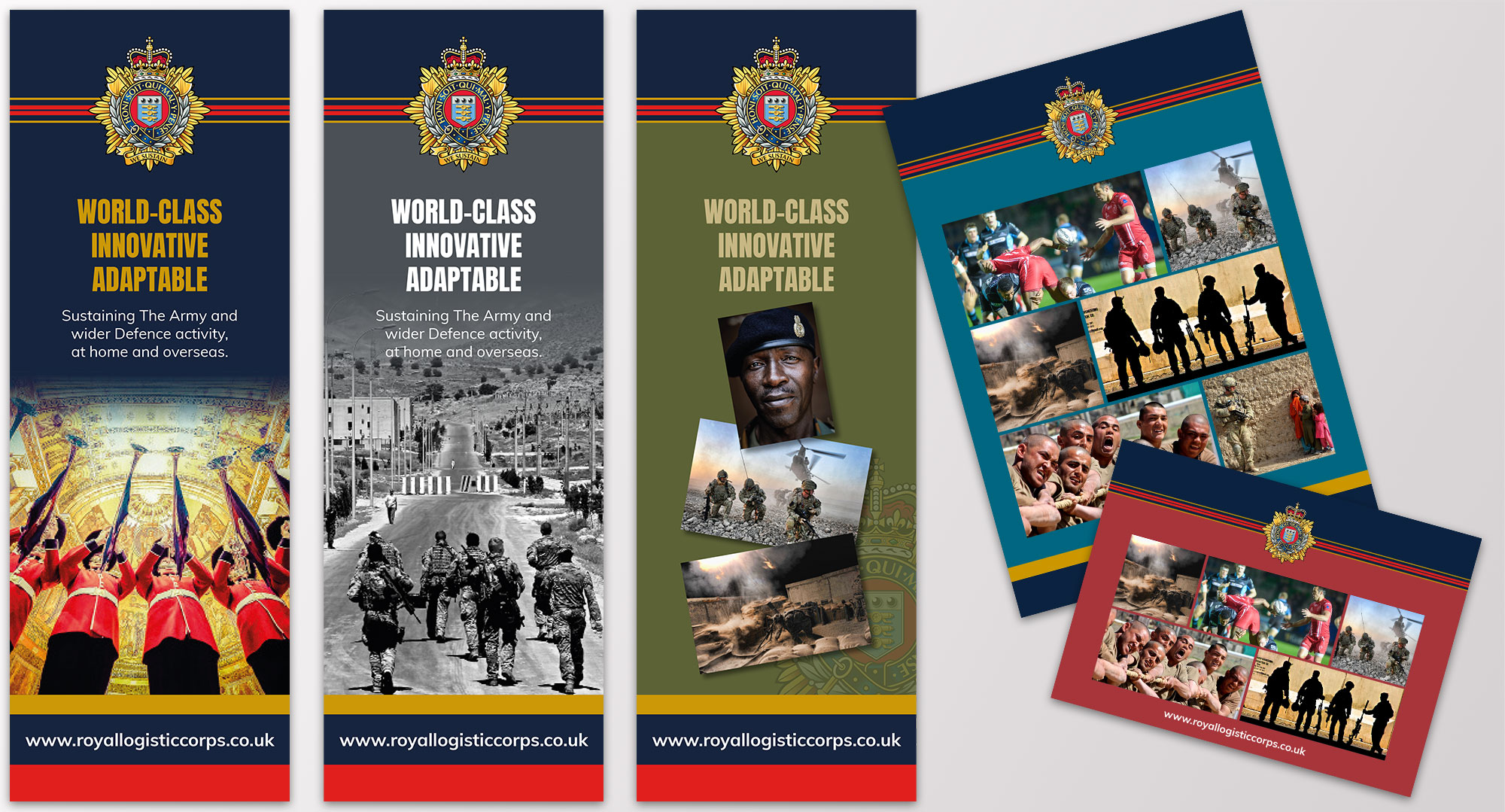 royal logistic corps banners